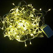 100-Light White LED Wedding Decoration String... – USD $ 11.99