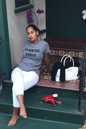 f0a74fe305c0 Tracee Ellis Ross - These Celebrities Are Bringing Much-Needed Awareness To  Black Women s Equal Pay Day