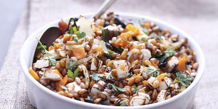 Epeautre aux champignons façon risotto