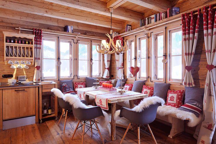 Kuschel-Chalet Luxus Chalet Tirol Tannheimer Tal Ferienhaus Allgäu - einrichtungsideen mobel chalet stil
