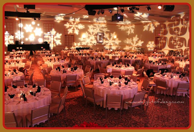 Decorating a Church for Christmas | Every year our church puts on a spectacular gala banquet at the Westin ...