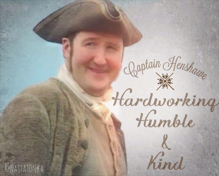 Poldark BBC Ross's friend Captain Henshawe!