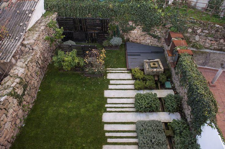 Piso Rehabilitación / equipoeme estudio #nolatipicafoto #jardín #diseño #interiorismo #rehabilitación #pozo #patio #huerta