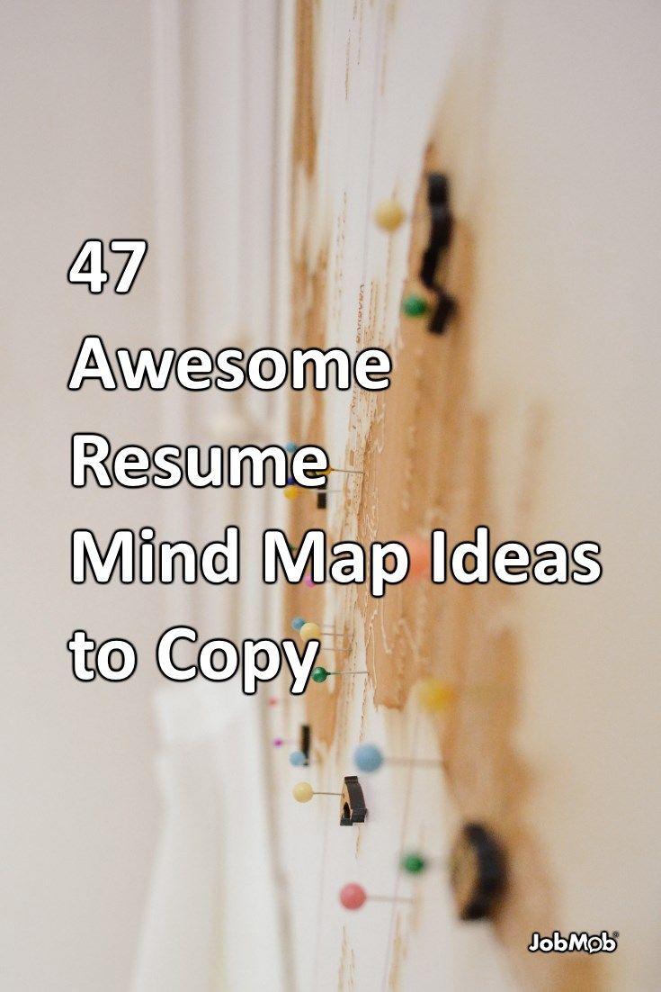 47 Awesome Resume Mind Map Ideas to Copy https://jobmob.co.il/blog/cv-mind-map-examples/