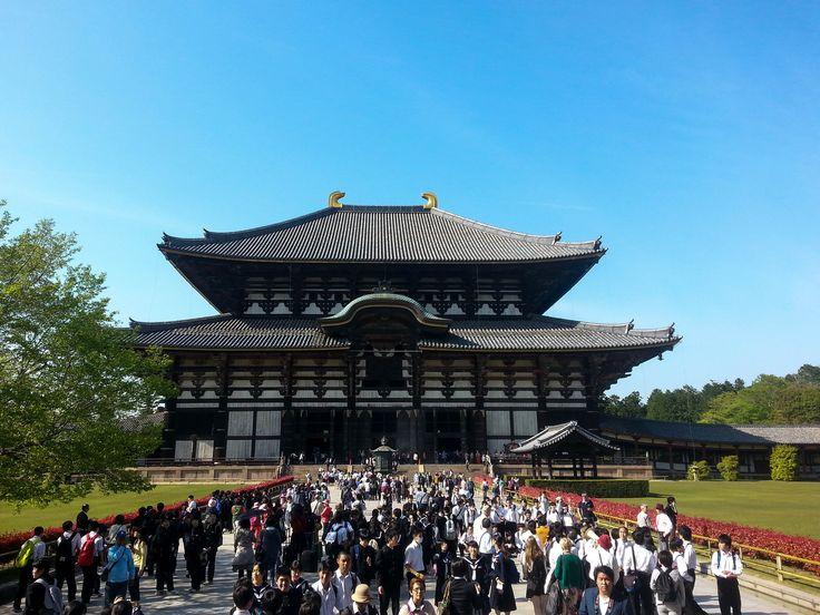 Todai-ji Temple  (東大寺) #japan Nara Deer Park #travelblog