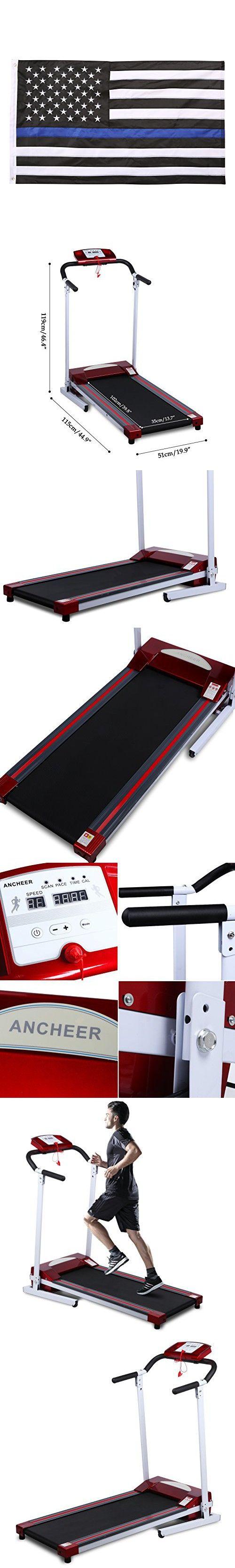 Ancheer Folding Treadmill Electric Fitness Running Machine 3.0