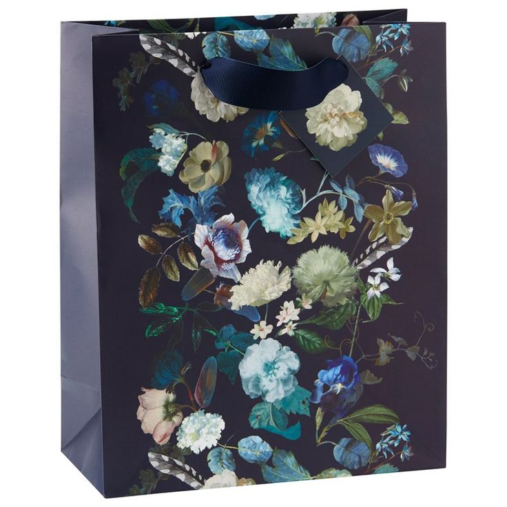 Fall Floral Med Bag by Indigo | Gift Bags & Tissue Gifts | chapters.indigo.ca