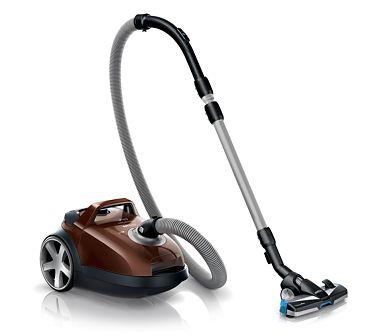 Performanţă completă, eficient economic, silentios. Cu acest aspirator curatenia devine o joaca de copil.