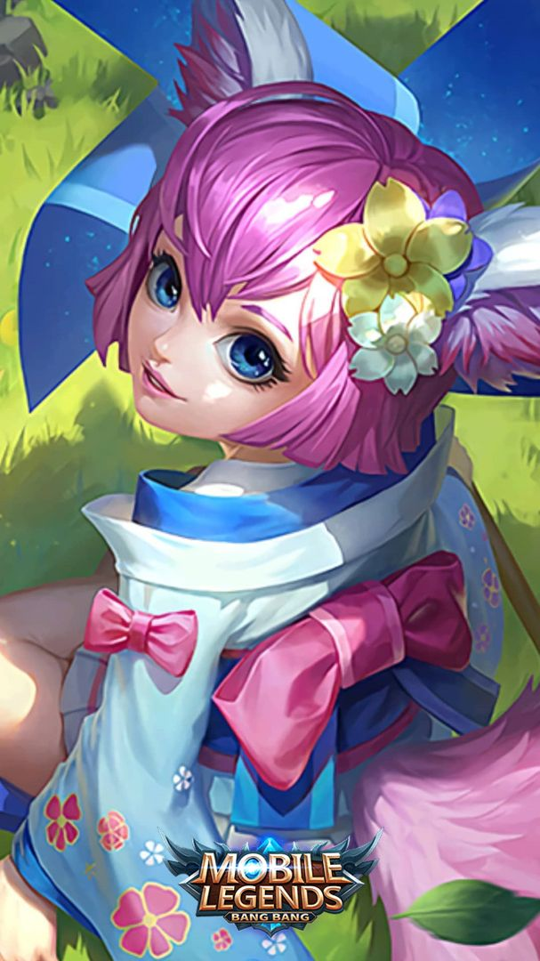 Nana Wind Fairy Mobile Legend Wallpaper Mobile Legends Miya Mobile Legends