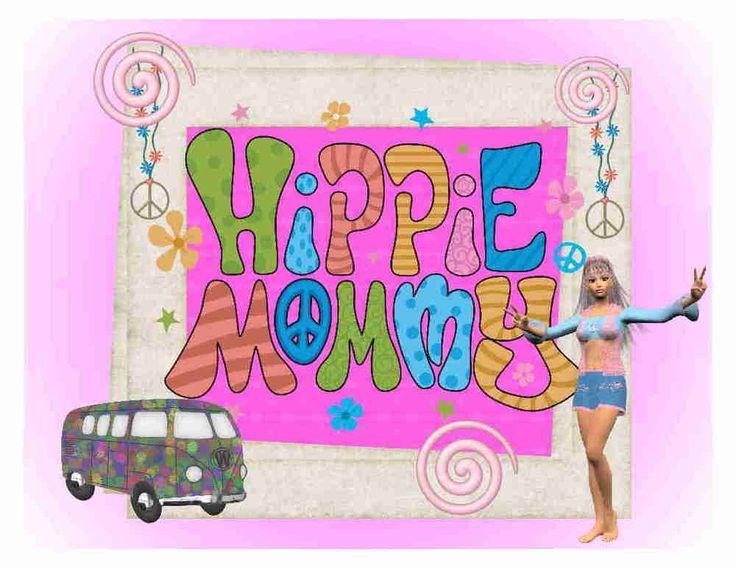 Custom Made T Shirt Hippie Mommy Peace Van Flower Retro Woman Moother Mom #Gildan #BasicTee