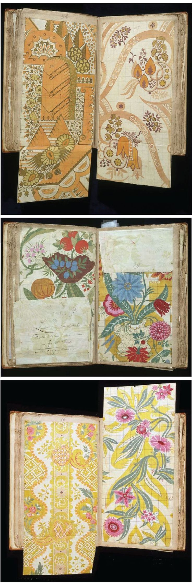pattern designer, James Leman, born in 1688.