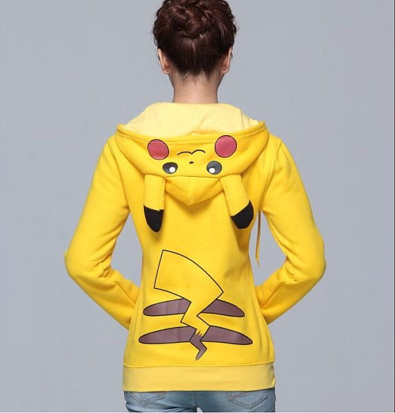 Hey, I found this really awesome Etsy listing at https://www.etsy.com/listing/171094736/pikachu-hoodie-w-ears-zip-up-front