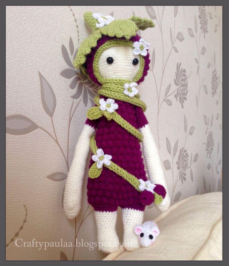 Amigurumi Dolls By Artist Lydia Tresselt : 17 Best images about lalylala-kira dockor on Pinterest ...