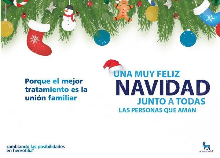 Una muy feliz #navidad para todos los que están cambiando las posibilidades en #hemofilia