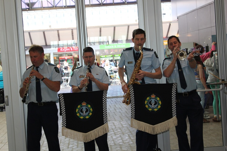The Band of the South Australia Police at the Royal Adelaide Show, 2012.