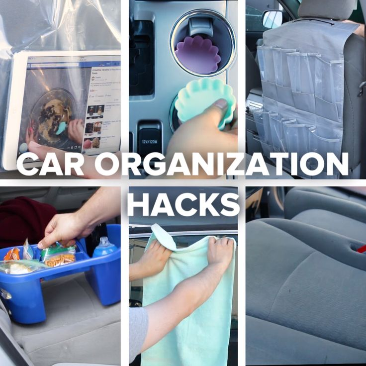 Car Organization Hacks || Travel
