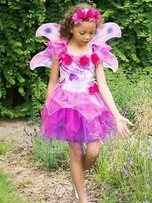 gesponsert ebay maedchen fuschia rosa lila blume fee