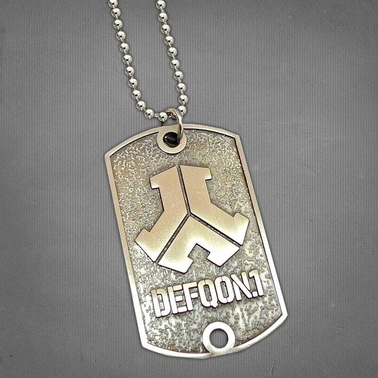 Defqon.1 Dog Tag Necklace