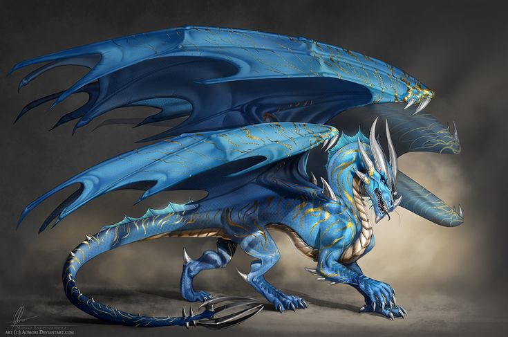 Cosmos the blue dragon by Aomori on DeviantArt