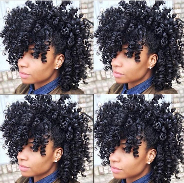 Stupendous 1000 Ideas About Natural Black Hairstyles On Pinterest Black Hairstyles For Women Draintrainus