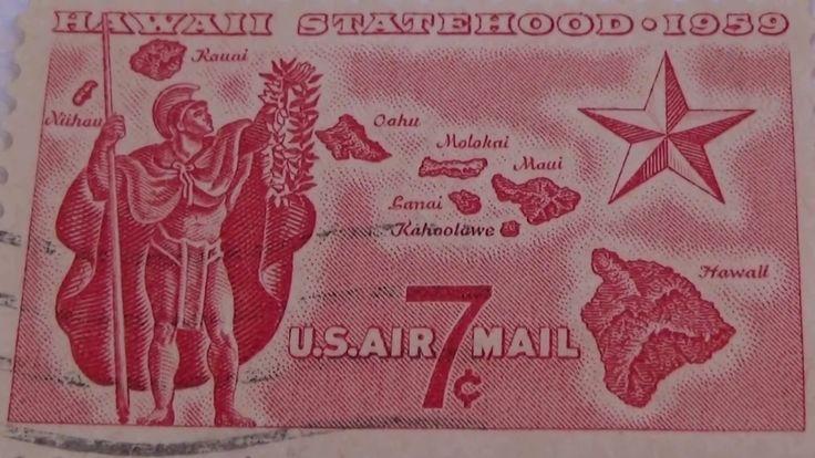 A 1959 & 1959-1984 HAWAII Statehood Postage Stamps