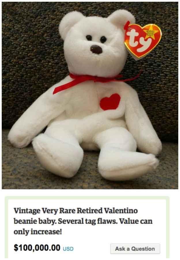 Valentino Beanie Baby — $100,000