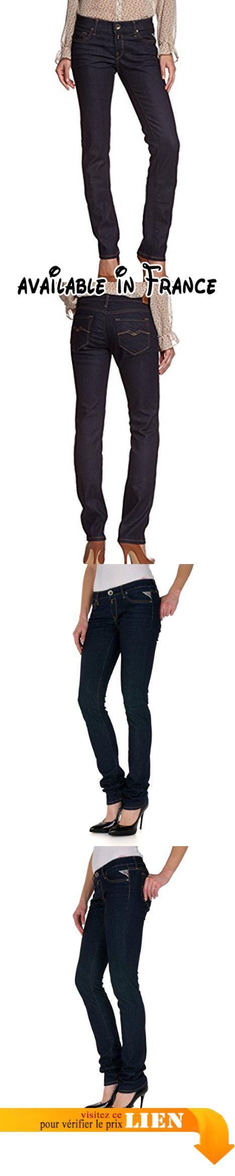 Replay - Jeans Droit - Femme - Bleu (7) - W31/L32. Notre modèle mesure 180 cm. Notre modèle porte une taille 27. Sa taille habituelle est 26. Conseils d'entretien: lavage en machine à 30°C #Apparel #PANTS