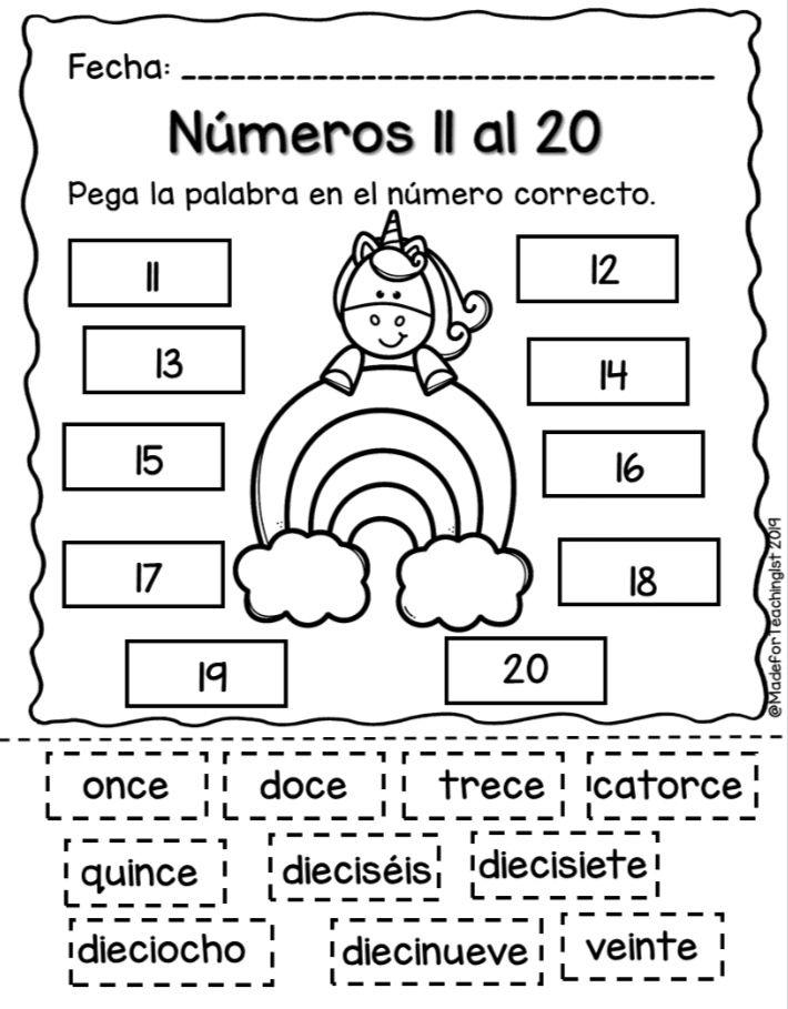 Pin On Maestra 4th grade spanish worksheets