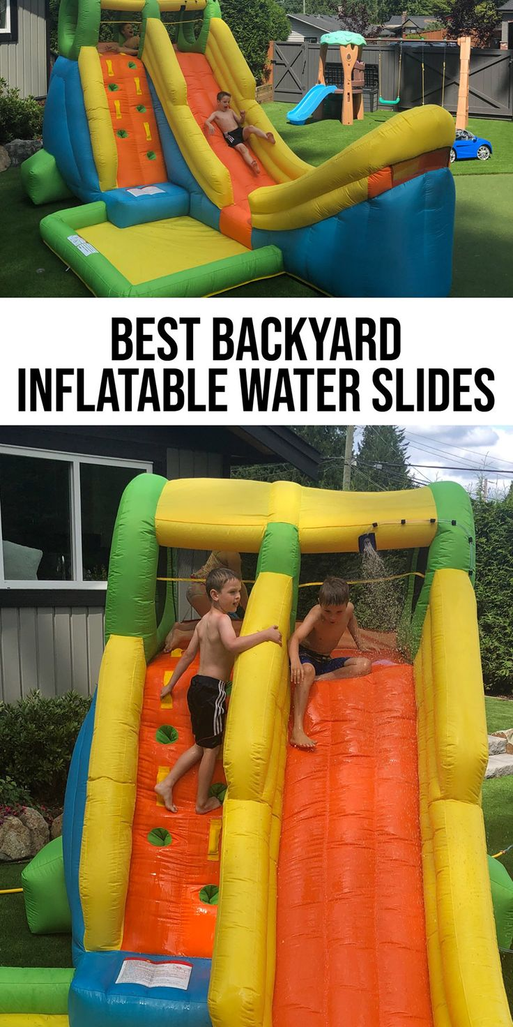 Top 10 Best Inflatable Water Slides Reviewed for 2020 ...