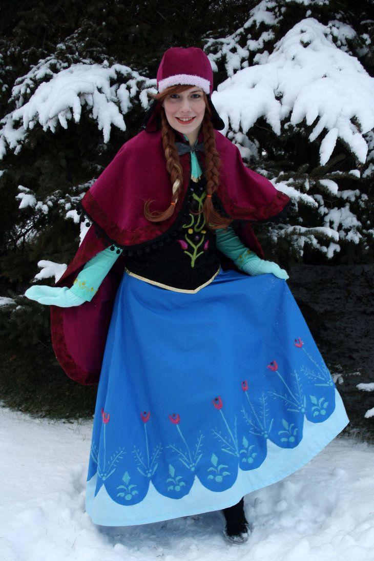Anna 2 by mystic-fae frozen anna cosplay