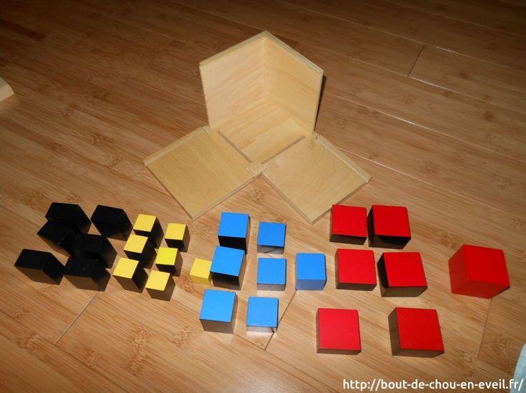Activités Montessori : le cube du trinôme (vidéo) | Bout de chou en éveil