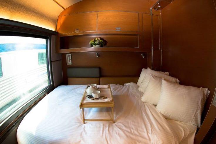 Luxury on wheels! Enjoy the Prestige Sleeper Class on THE CANADIAN, one of the world's greatest train journeys.  #VIARail