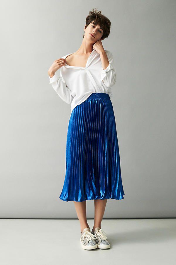 Slide View: 5: Gemma Pleated Skirt