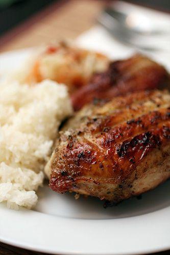 Recette Cuisses de poulet grillées à la thaïlandaise