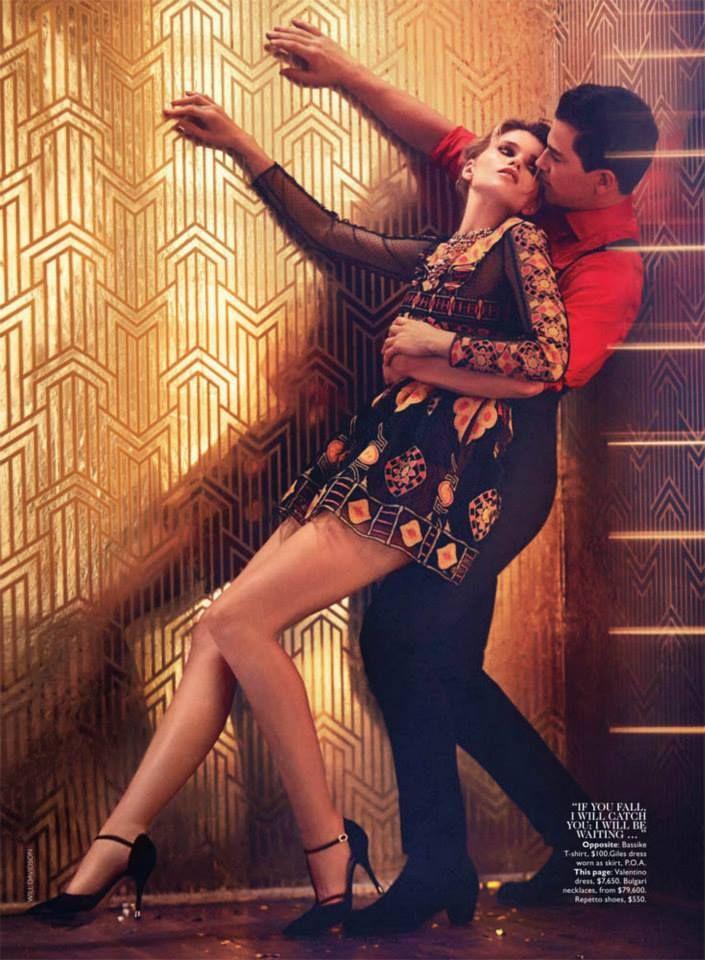 #AbbeyLeeKershaw by #WillDavidson for #VogueAustralia April 2014