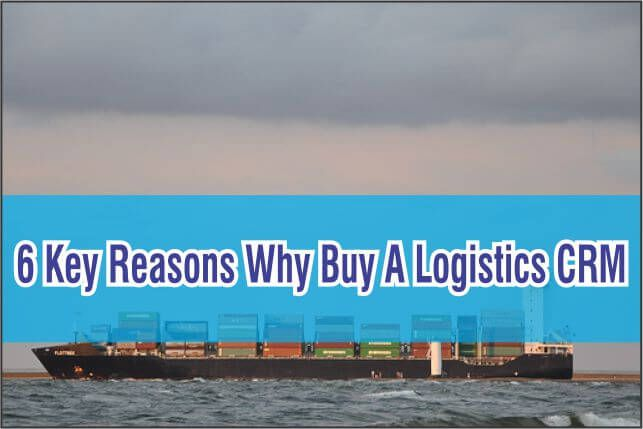If wanting huge success isn't enough of a reason, checkout our blog to see why you should buy a  Logistics CRM: #CRM #Software #Blog