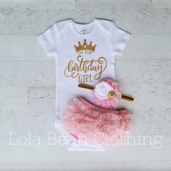 First Birthday Outfit 1st Birthday Baby Clothes Girl S 1st Birthday Outfit Pink First Birthday Outfit Girl Baby Girl 1st Birthday 1st Birthday Outfits