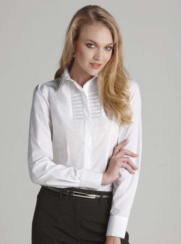 Berlin Ladies Long Sleeve Shirt - S121LL