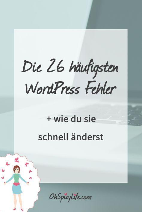 Egal ob Anfänger oder erfahrene WordPress Nutzer, es gibt typische Fehler, die…