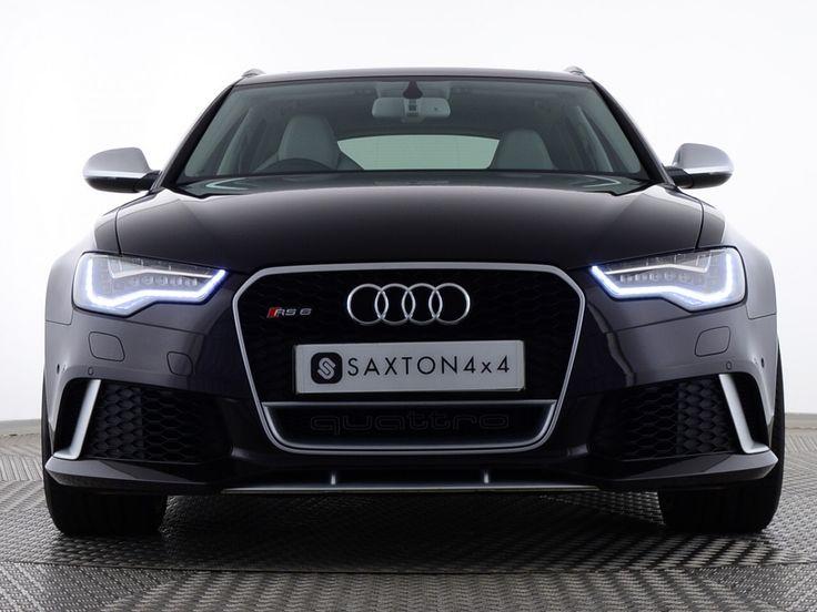 Used Audi A6 RS6 AVANT TFSI V8 QUATTRO 5 DOOR Black for sale Essex PX64MYW | Saxton 4x4