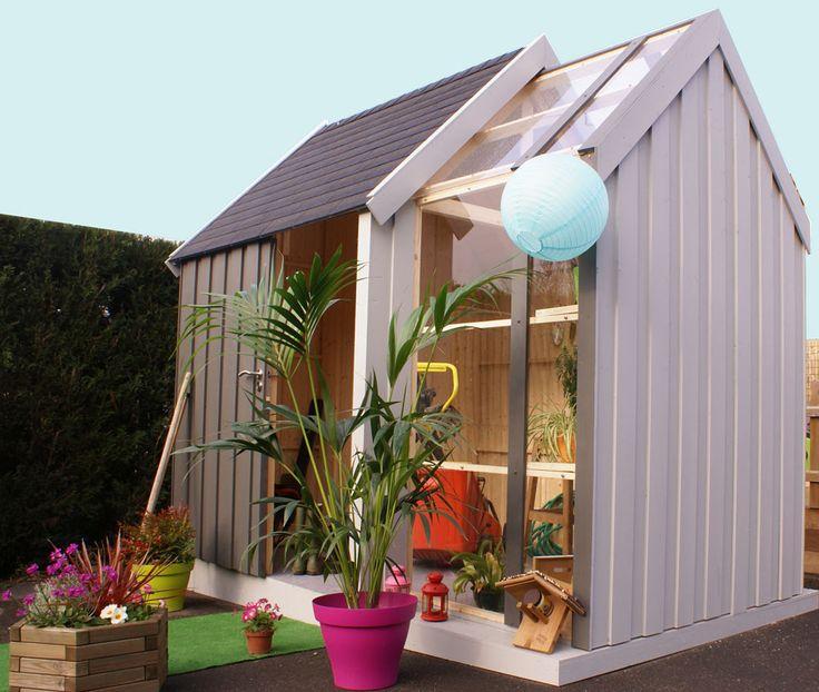 abris de jardin abri serre traiter fiche produit abri serre traiter du catalogue sm bois. Black Bedroom Furniture Sets. Home Design Ideas