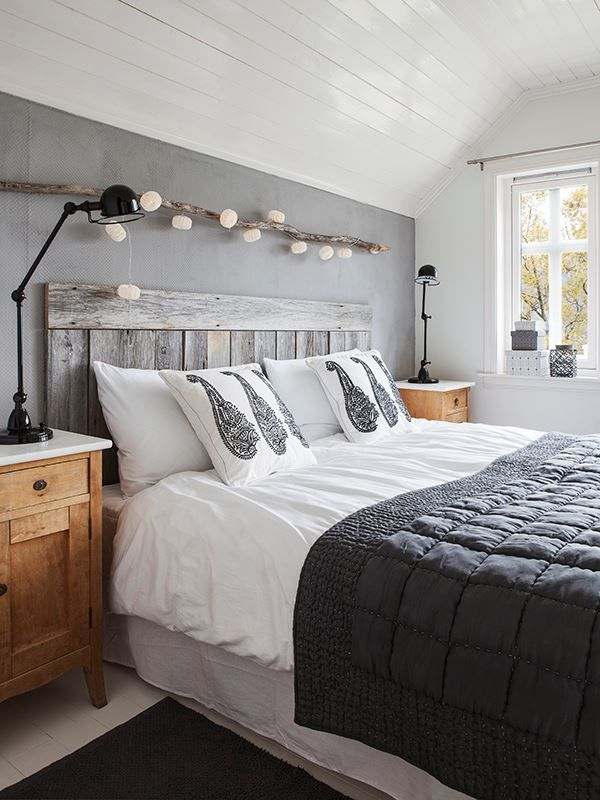 scandinavian bedroom - hmm, maybe our bedroom furniture can mix with modern pieces for now.