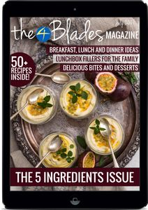 T4B Mag 033: The 5 Ingredients Issue - The 4 Blades