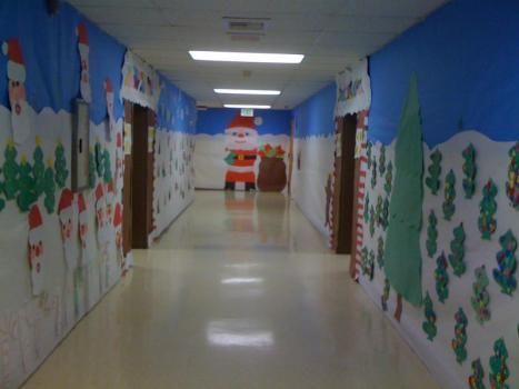 Christmas Decorations School Hallway Inspiring Quotes And Words