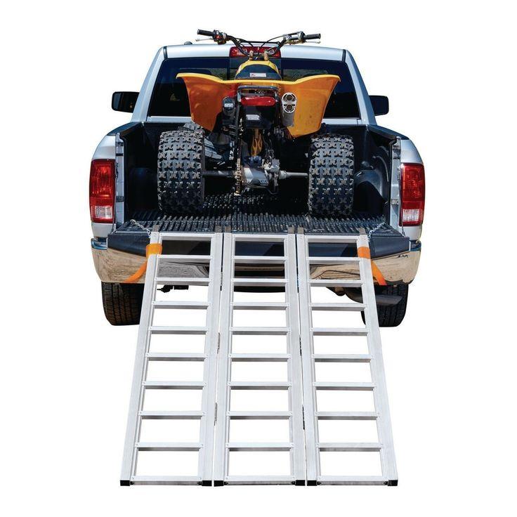 1500 lb. Capacity TriFold Aluminum Loading Ramp in 2020