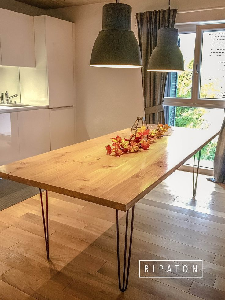 17 meilleures id es propos de tables hautes sur pinterest tables hautes - Decoration table a manger ...