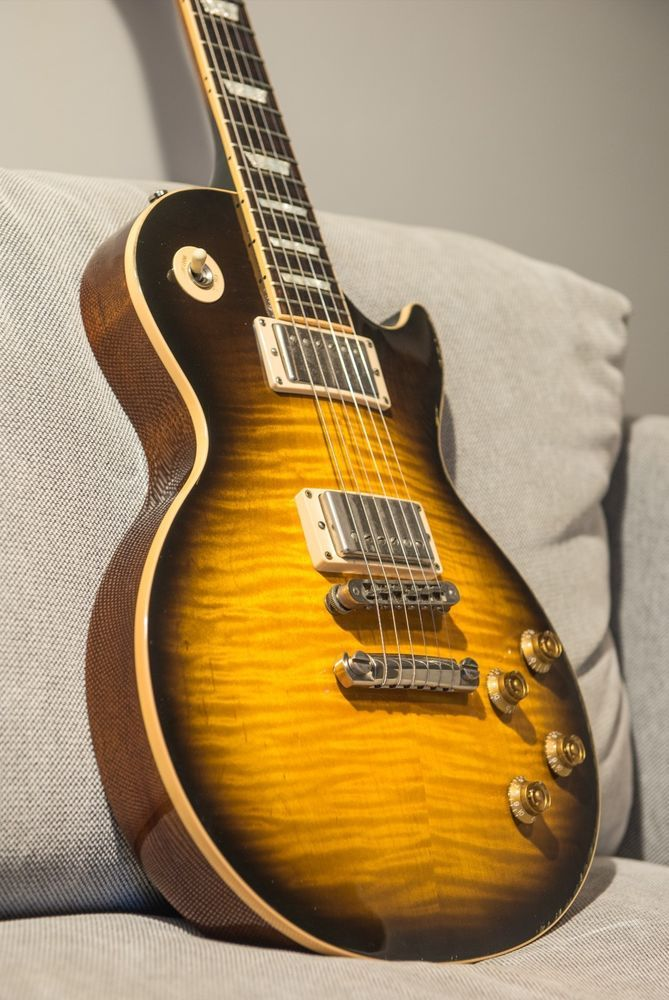 Gibson Les Paul Standard 2004 Tobacco Sunburst great flamed