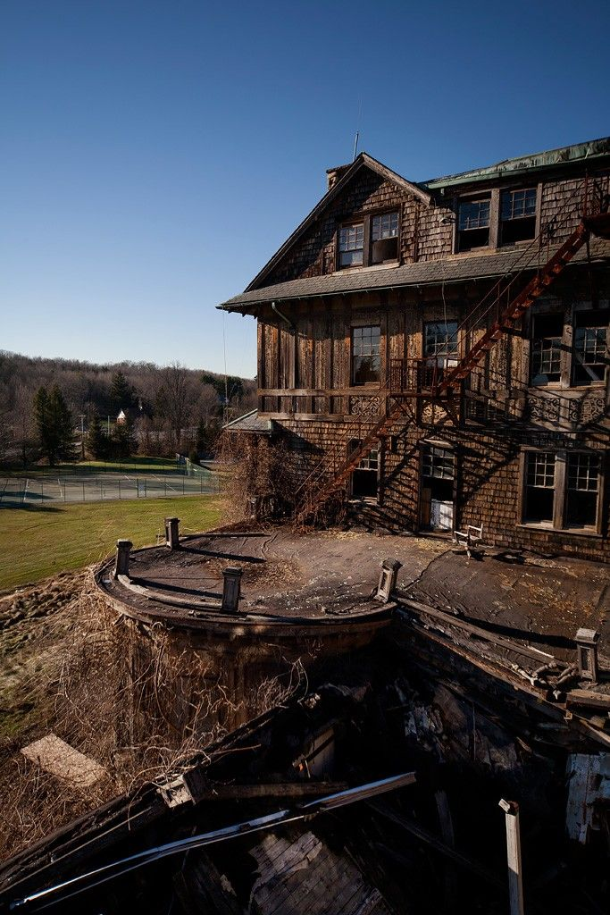 Bennett College - abandoned in Millbrook, NY.