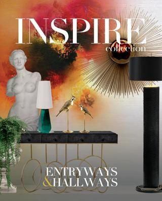 Book entryways'hallways inspiration preview  You know what they say about first impressions, so make sure you make a great one. Get inspired by hundreds of ideas for Entryways and Hallways, that a selected team of interior designers have searched especially for you. Projects from all over the world, in all kind of styles, exquisite brands and a combina- tion of luxurious ambiences. Be sure about creating the perfect interior project and nail that stunning first impression.