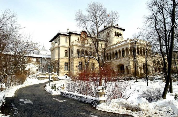 Cotroceni Palace, Bucharest - the Presidential Palace of Romania